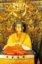Lamatempel 03 (beeld van Sakyamuni, Boeddha van het verleden)