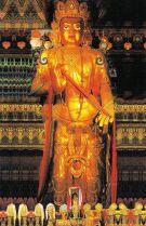 Lamatempel 05 (beeld van Maitreya Bodhisattva)