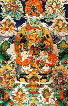 Lamatempel 07 (Vaisramana, hemelse koning van het geld)