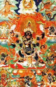 Lamatempel 09 (beschermengel Dharmapala)