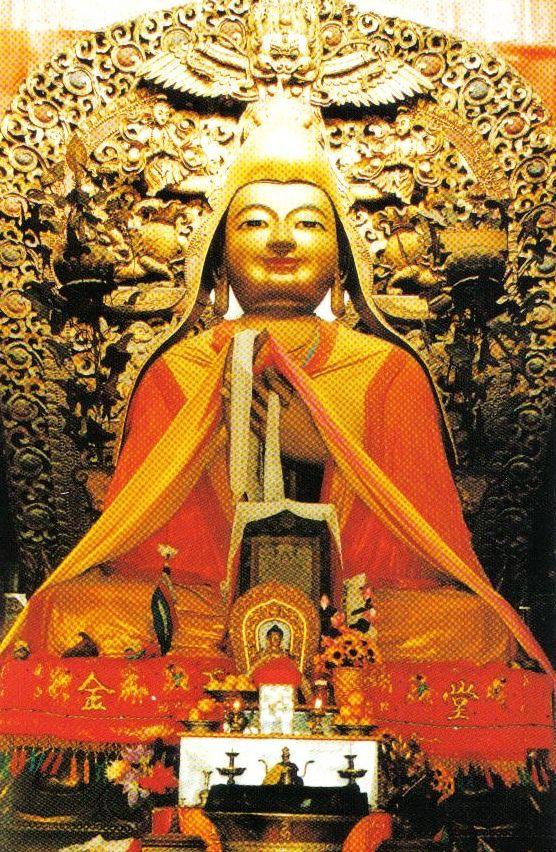 Lamatempel 14 (beeld van Tsongkhapa)