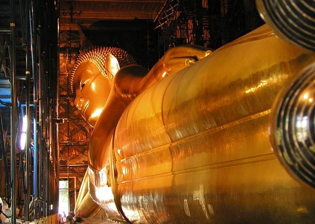 Liggende Boeddha 06