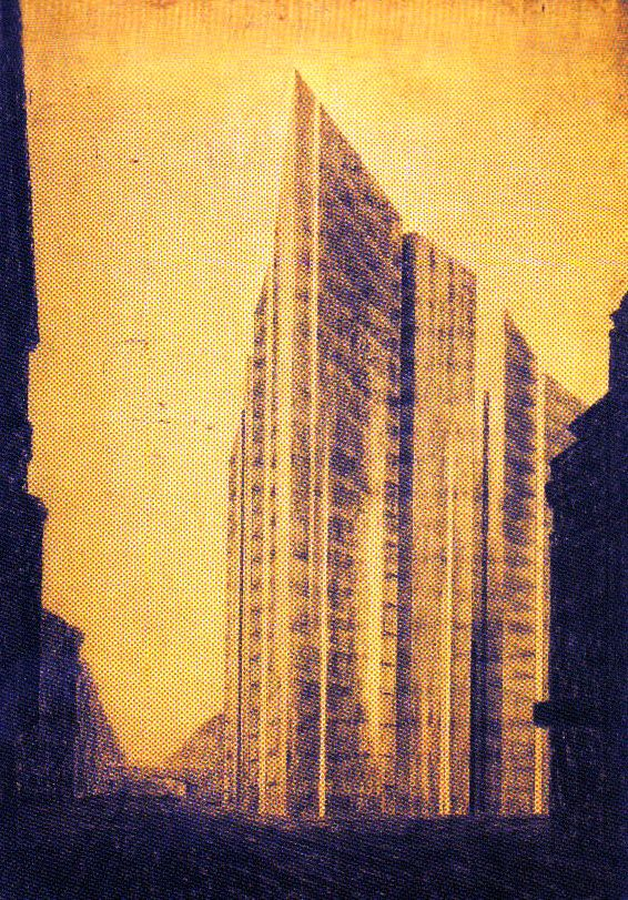 Ludwig Mies van der Rohe - Friedrichstrasse - 1921