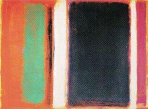 Mark Rothko - Magenta, zwart, groen en oranje - 1949