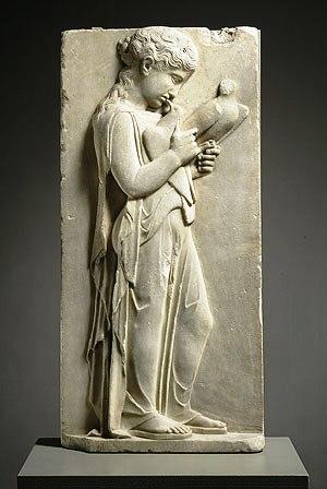 Marmeren grafmonument - 440 v.C.