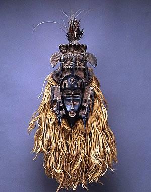 Masker - Ivoorkust - 1870
