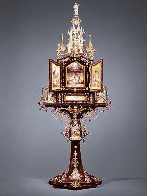 Matthias Walbaum - Reliekschrijn - 1621