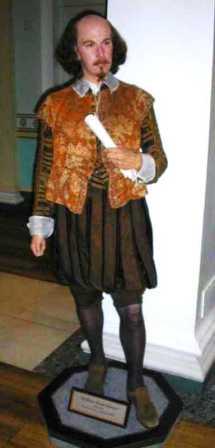 Mme Tussaud 28 (Williiam Shakespeare)