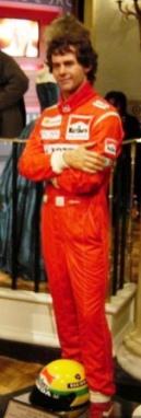 Mme Tussaud 46 (Ayrton Senna)