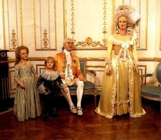 Mme Tussaud 7 (Lodewijk XIV en familie)