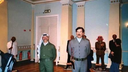 Mme Tussaud 9 (Arafat & Saddam)