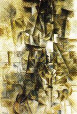 Pablo Picasso - Accordionist - 1911