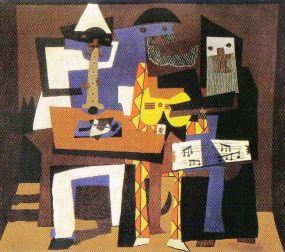 Pablo Picasso - Drie musici - 1921