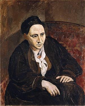 Pablo Picasso - Gertrude Stein - 1906