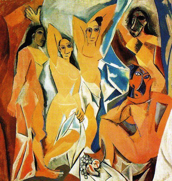 Pablo Picasso - Les demoiselles d'Avignon - 1907
