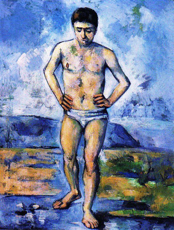 Paul Cézanne - De bader - 1885