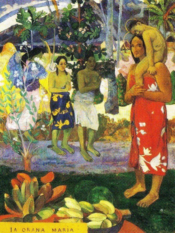 Paul Gauguin - Heilige Maria - 1891