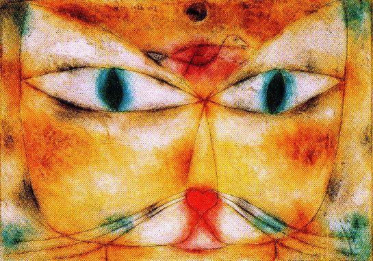 Paul Klee - Kat en vogel - 1928