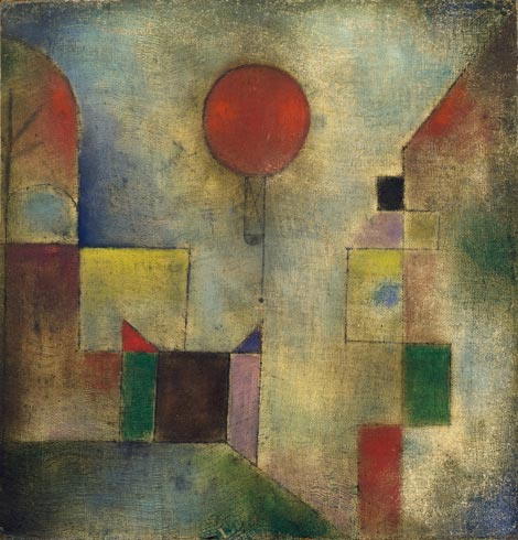 Paul Klee - Red Balloon - 1922