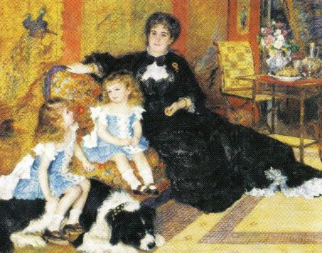 Pierre Auguste Renoir - Madame Georges Charpentier en haar kinderen - 1878