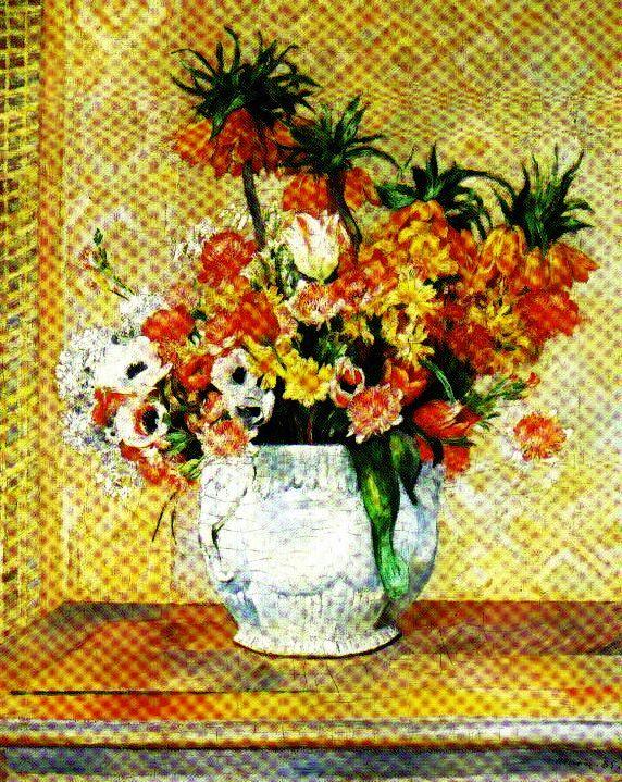 Pierre Auguste Renoir - Stilleven - 1885