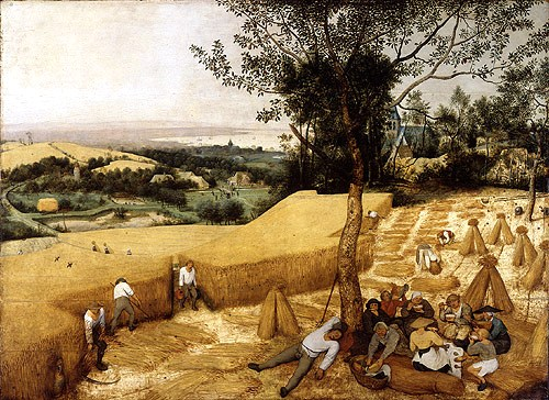 Pieter Bruegel de oudere - De oogst - 1565