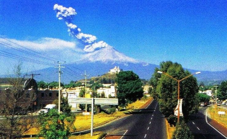 Popocatépetl-vulkaan 02