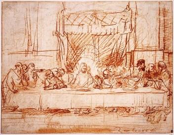 Rembrandt van Rijn - Laatste Avondmaal - 1634