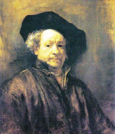 Rembrandt van Rijn - Zelfportret - 1660