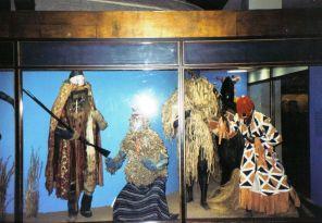 Rituele kledij van Afrikaanse stammen