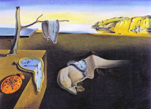 Salvador Dali - De hardnekkigheid van het geheugen - 1931