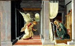 Sandro Botticelli - De Annunciatie - 1485