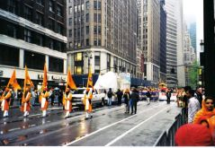 Sikhparade op Broadway