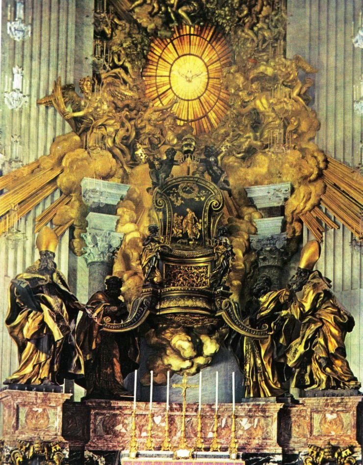 Sint-Pietersbasiliek 25 (pauselijke stoel)
