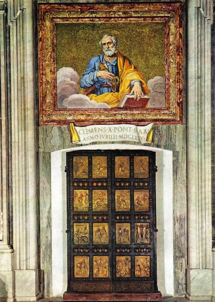Sint-Pietersbasiliek 26 (Porta Santa)
