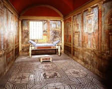 Slaapkamer uit de villa van Fanius Synistor - 35 v.C.