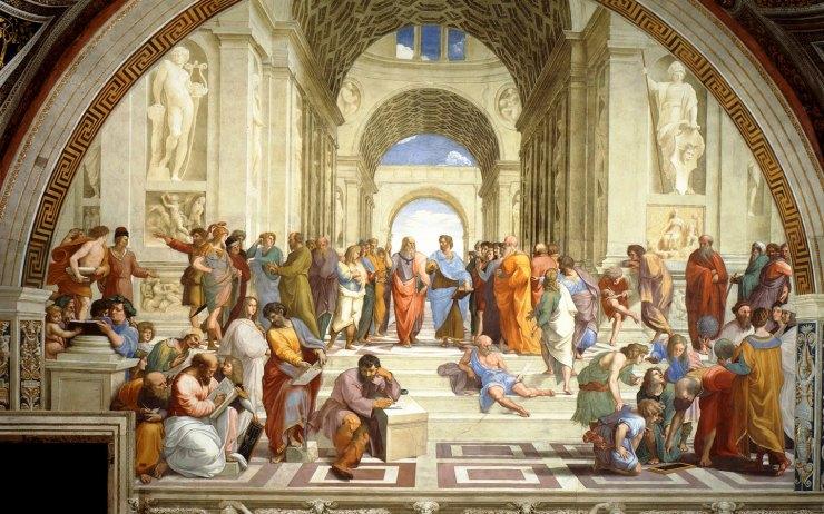 Stanze di Raffaello 01 (Atheense School)