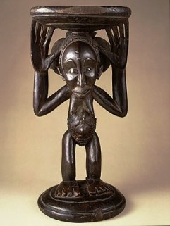 Stoel uit Congo - 1820