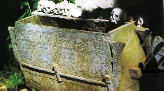 Tana Toraja 18 (hangende graven)