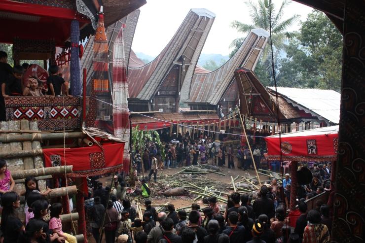 Tana Toraja 57 (begrafenisceremonie)