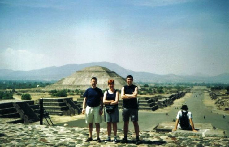 Teotihuacán 03 (Tempel van de zon)