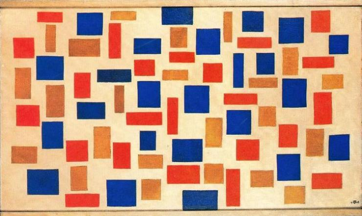 Theo van Doesburg - Composition XI - 1918