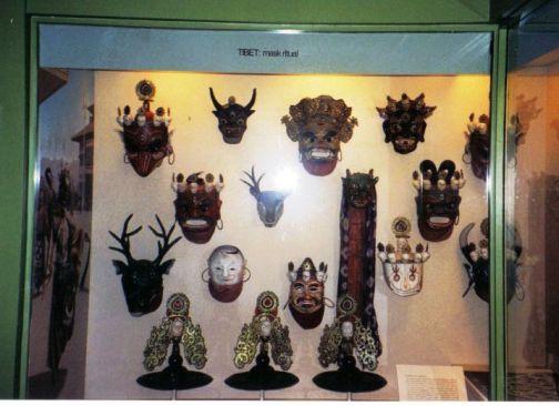 Tibetaanse maskers