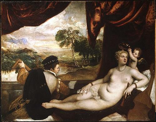Titiaan - Venus en de luitspeler - 1565