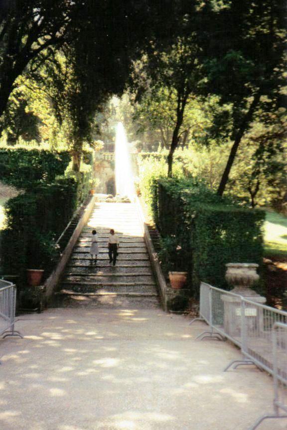 Tivoli 11 (Villa d'Este - Fontein van Civetta)