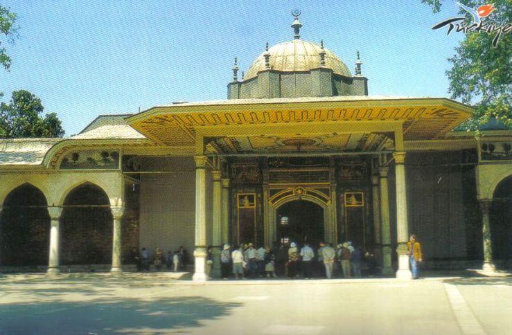 Topkapi-paleis 10 (Poort der Gelukzaligheid)
