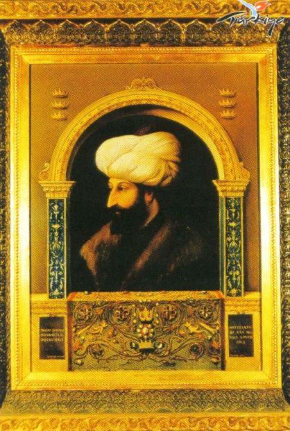 Topkapi-paleis 15 (portret vanMehmet de veroveraar)
