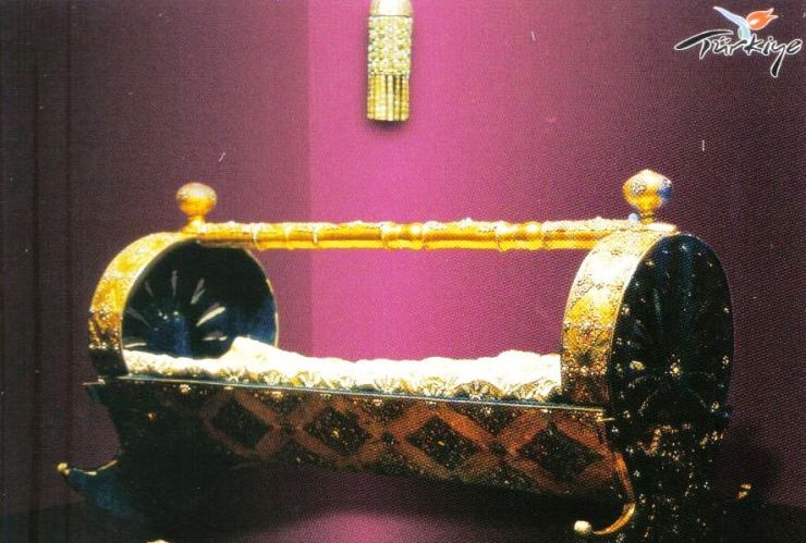 Topkapi-paleis 16 (gouden wieg van de sultan)