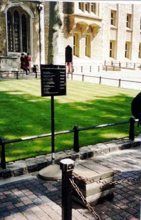 Tower of London 40 (executieblok)
