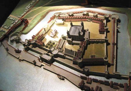 Tower of London 41 (maquette van de Tower)